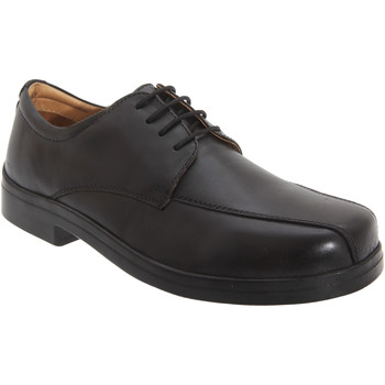 kengät Miehet Derby-kengät Roamers Tramline Black