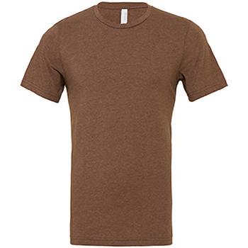 vaatteet Miehet Lyhythihainen t-paita Bella + Canvas CA3001 Heather Brown