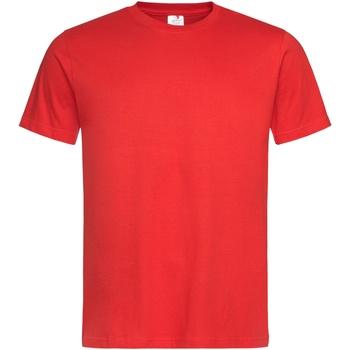 vaatteet Miehet Lyhythihainen t-paita Stedman Stars  Scarlet Red