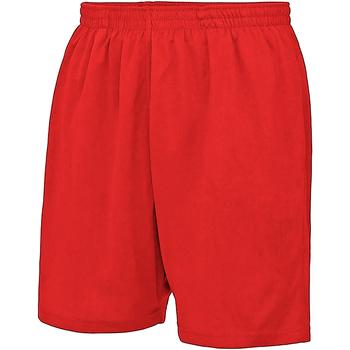 vaatteet Lapset Shortsit / Bermuda-shortsit Awdis Just Cool Fire Red