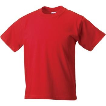 vaatteet Lapset Lyhythihainen t-paita Jerzees Schoolgear ZT180B Bright Red
