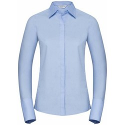 vaatteet Naiset Paitapusero / Kauluspaita Russell 960F Bright Sky