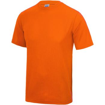 vaatteet Lapset Lyhythihainen t-paita Awdis JC01J Electric Orange