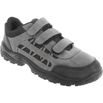 kengät Miehet Vaelluskengät Dek Ascend Grey/Black