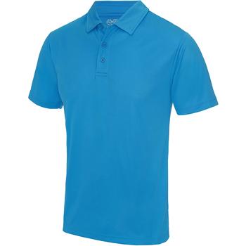 vaatteet Miehet Lyhythihainen poolopaita Awdis JC040 Sapphire Blue