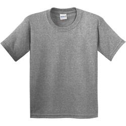 vaatteet Lapset Lyhythihainen t-paita Gildan 5000B Graphite Heather
