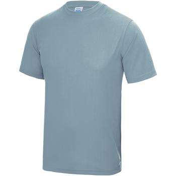 vaatteet Lapset Lyhythihainen t-paita Awdis JC01J Sky Blue