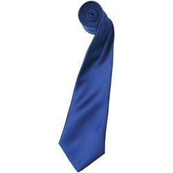 vaatteet Miehet Solmiot ja asusteet Premier Satin Marine Blue