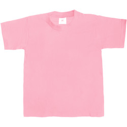 vaatteet Lapset Lyhythihainen t-paita B And C Exact 190 Pink Sixties