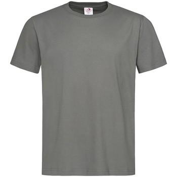 vaatteet Miehet Lyhythihainen t-paita Stedman  Real Grey