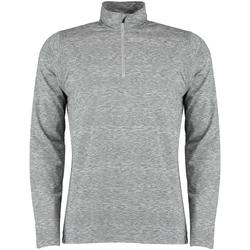 vaatteet Miehet Pitkähihainen paitapusero Rhino RH006 Grey Heather