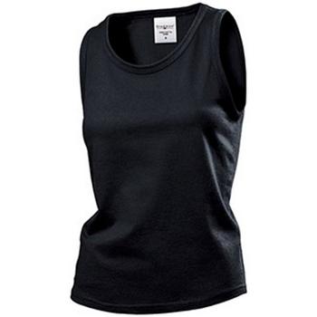 vaatteet Naiset Hihattomat paidat / Hihattomat t-paidat Stedman  Black Opal