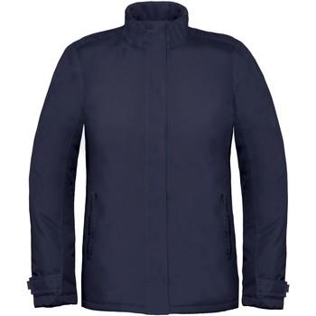 vaatteet Naiset Tuulitakit B And C Real+ Navy Blue