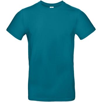 vaatteet Miehet Lyhythihainen t-paita B And C TU03T Diva Blue