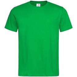 vaatteet Miehet Lyhythihainen t-paita Stedman  Kelly Green