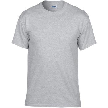 vaatteet Miehet Lyhythihainen t-paita Gildan DryBlend Sport Grey