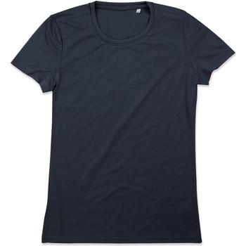 vaatteet Naiset Lyhythihainen t-paita Stedman  Blue Midnight