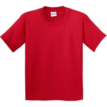 vaatteet Lapset Lyhythihainen t-paita Gildan 64000B Red