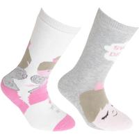 Asusteet / tarvikkeet Lapset Sukat Floso Welly Cream/Pink