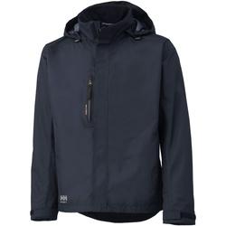 vaatteet Miehet Tuulitakit Helly Hansen Haag Navy Blue