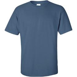 vaatteet Miehet Lyhythihainen t-paita Gildan Ultra Indigo Blue
