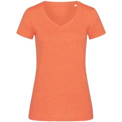 vaatteet Naiset Lyhythihainen t-paita Stedman Stars  Pumpkin Heather
