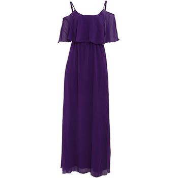 vaatteet Naiset Pitkä mekko Girls On Film  Purple