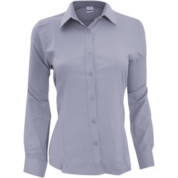 vaatteet Naiset Paitapusero / Kauluspaita Henbury Wicking Slate Grey