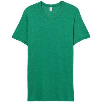 vaatteet Miehet Lyhythihainen t-paita Alternative Apparel AT001 Eco True Green