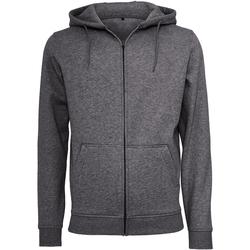 vaatteet Miehet Svetari Build Your Brand BY012 Charcoal