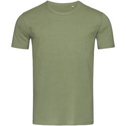 vaatteet Miehet Lyhythihainen t-paita Stedman Stars Morgan Military Green