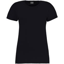 vaatteet Naiset Lyhythihainen t-paita Kustom Kit Superwash Navy Blue