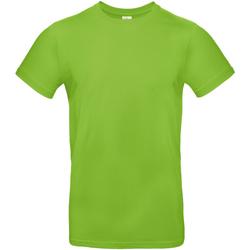 vaatteet Miehet Lyhythihainen t-paita B And C TU03T Orchid Green