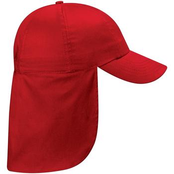Asusteet / tarvikkeet Lapset Lippalakit Beechfield BC11B Classic Red