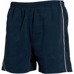 vaatteet Miehet Shortsit / Bermuda-shortsit Tombo Teamsport TL081 Navy/Navy/ White Piping