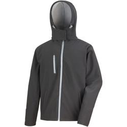 vaatteet Miehet Tuulitakit Result R230M Black/Grey