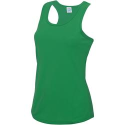 vaatteet Naiset Hihattomat paidat / Hihattomat t-paidat Awdis JC015 Kelly Green