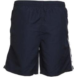 vaatteet Miehet Shortsit / Bermuda-shortsit Gamegear KK980 Navy/White