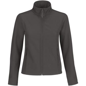 vaatteet Naiset Fleecet B And C JWI63 Dark Grey/ Neon Orange