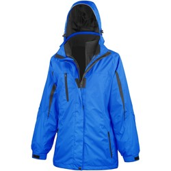 vaatteet Naiset Tuulitakit Result R400F Royal / Black