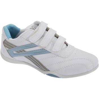 kengät Naiset Matalavartiset tennarit Dek Raven White/Light Blue