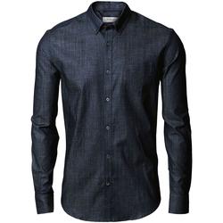vaatteet Miehet Pitkähihainen paitapusero Nimbus Torrance Indigo Blue