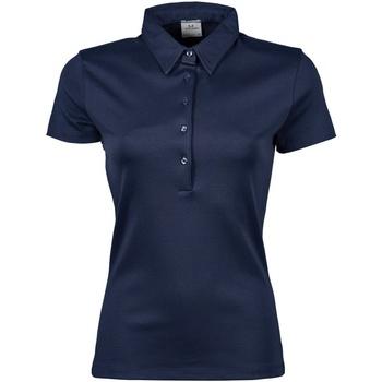 vaatteet Naiset Lyhythihainen poolopaita Tee Jays Pima Navy Blue