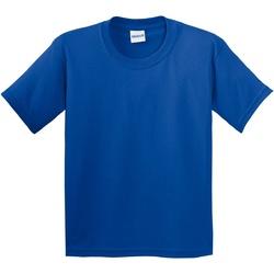 vaatteet Lapset Lyhythihainen t-paita Gildan 64000B Royal