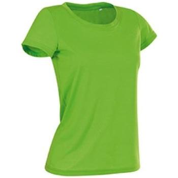 vaatteet Naiset Lyhythihainen t-paita Stedman Cotton Touch Kiwi Green