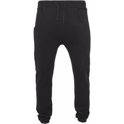 vaatteet Miehet Verryttelyhousut Build Your Brand BY013 Black