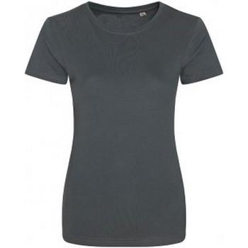 vaatteet Naiset Lyhythihainen t-paita Ecologie EA01F Charcoal