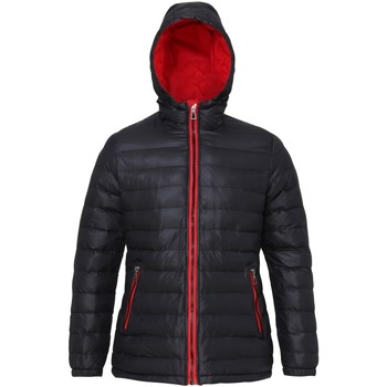 vaatteet Naiset Toppatakki 2786 TS16F Black/Red