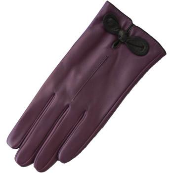 Asusteet / tarvikkeet Naiset Hanskat Eastern Counties Leather  Purple/Black