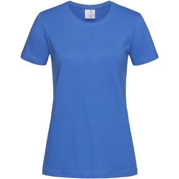 vaatteet Naiset Lyhythihainen t-paita Stedman  Bright Royal